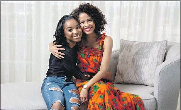 """?? Jay L. Clendenin Los Angeles Times ?? S A N I Y YA Sidney, left, and Gugu Mbatha-Raw are part of a lineage of superpowered women in """"Fast Color."""""""