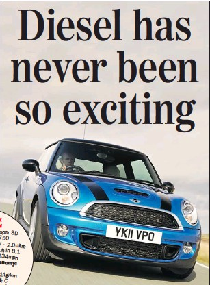 Pressreader Sunday Express 2011 06 05 Mini Cooper Sd