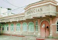 ?? CORTESÍA. ?? Policlínica de Cienága, Magdalena.