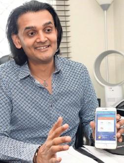 ??  ?? Amber Connect CEO Dushyant Savadia.