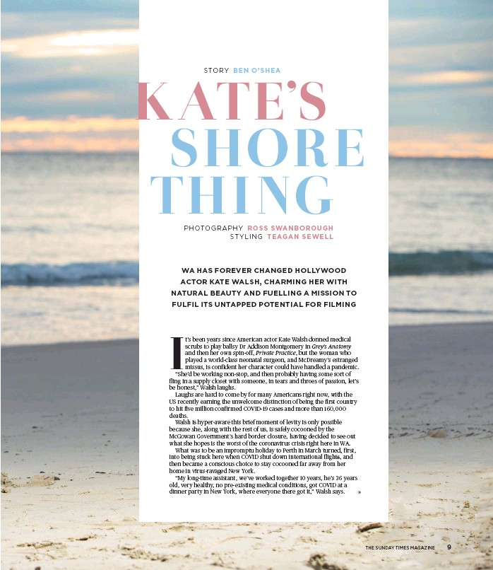 Pressreader The Sunday Times 2020 08 16 Kate S Shore Thing