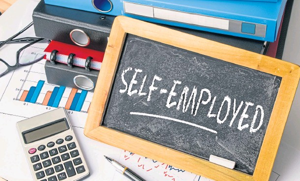 ??  ?? TROUBLING TIMES: Experts say government measures to help UK self-employed workers have limitations and those struggling should seek advice as soon as possible
