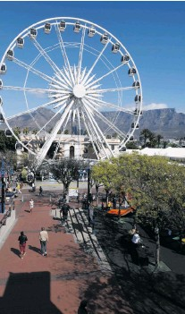 ??  ?? V&A Waterfront with Table Mountain in the background.