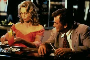 ?? (Moviestore/Shutterstock) ?? 'Columbo: It's All in the Game', from 1993, starring Faye Dunaway and Peter Fa l k