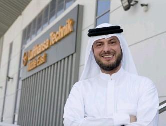??  ?? Ziad al Hazmi, CEO Lufthansa Technik Middle East.