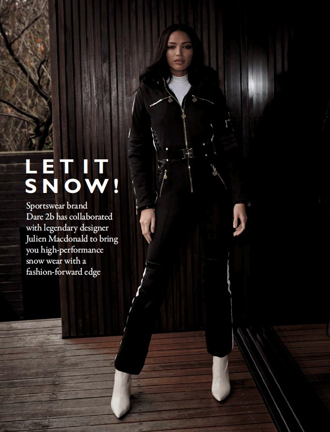 7a87cd26c9 Snow gear has never looked so stylish. Discover the complete Dare 2b x  Julien Macdonald Presents Snow Wear collection online at dare2b.com jm