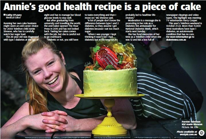 PressReader - The West Australian  2017-07-01 - Annie s good health ... 9329d96022d