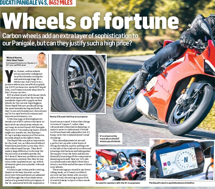 Pressreader Mcn 2018 11 14 Living With A Ducati Panigale V4 And