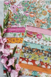 """??  ?? Ackerman is a fabric designer and creates collections based on her formulas of which patterns work well together. """"When designing a collection or a room, I begin with a 'hero' or 'focal' print,"""" she writes."""