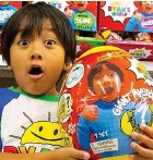 ??  ?? Rich: The star of Ryan ToysReview