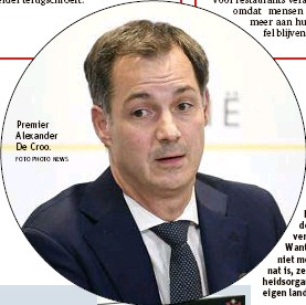 ?? FOTO PHOTO NEWS ?? Premier Alexander De Croo.