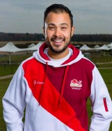 ??  ?? Above Aaron Heading won Trap silver at Gold Coast 2018, but shooting won't be part of Birmingham 2022