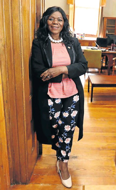 ?? Pictures: Esa Alexander ?? Former public protector Thuli Madonsela is now a professor of law, holding a chair in social justice at Stellenbosch University.