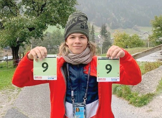?? Pablo Aguilar de 17 años es el mejor juvenil de Downhill en América. CON/La República ??