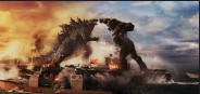 """??  ?? Godzilla and King Kong fight it out in """"Godzilla vs. Kong,"""" which set a record for box office receipts during the pandemic with more than $60 million."""