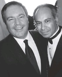 ??  ?? Employment minister Jason Kenney with Rana Vig who turned Mehfi l magazine columns into the book A 100 Year Journey.