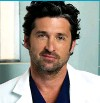 ??  ?? hunk: Patrick Dempsey named 'Dr McDreamy' – worshipped on the show for his hair as much as his surgical skills.