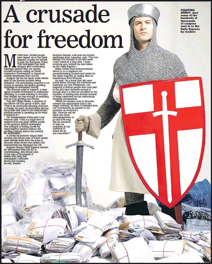 PressReader - Sunday Express: 2011-01-08 - A crusade for freedom