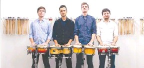 ?? FACEBOOK. COM ?? Sandbox Percussion is the second artist in String Theory's season.