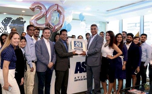 ??  ?? Rather than resting on their laurels, the team at ASM continue to bolster the company's global reach, exploring new ventures into untapped markets.