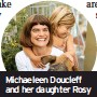 ??  ?? Michaeleen Doucleff and her daughter Rosy
