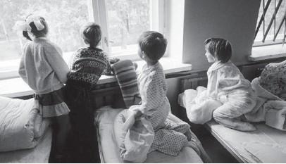 ??  ?? «І ми хочемо в родинне середовище». Фото з сайта ukrinform.com.