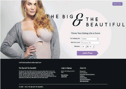 free big and beautiful dating sites