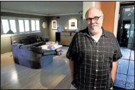 """??  ?? Designer John Griffin helped redo this late'50s ranch house belonging to Reed Malkin and Diane Benson. """"They just rose to the challenge and found fun stuff to make the place special,"""" he says."""