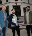 ??  ?? SHOPIN har utviklet et konsept som samler alle lokale butikker i en digital handlegate. F.v. Sveinung W. Jensen, Martin Morfjord og Roger Henriksen.