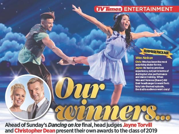 Pressreader Tv Times 2019 03 09 Dancing On Ice Final