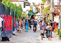 ?? POST STAFF ?? Cambodia's street art scene began taking off more than a decade ago.