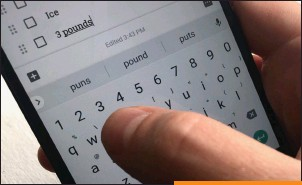 ??  ?? You can get quicker access to the number keys by toggling on Gboard's 'Number row' setting