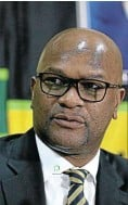 ??  ?? Minister of sport, arts and culture Nathi Mthethwa: Sticking points removed.