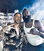 ??  ?? Ramos und Basketball- Star Harden
