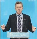 ??  ?? Per sbloccare i rim borsi agli obbligazionisti è stato decisivo il via libera del presidente argentino M auricio M acrì