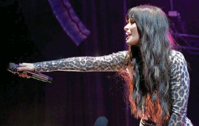 ?? ETHAN MILLER Getty Images/TNS ?? Kacey Musgraves, shown in 2019, has a new LP, 'Star-Crossed,' that chronicles the end of her marriage.