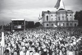 ??  ?? Концерт «Viva Батурин!» 23 серпня 2019 року. Фото надані НІКЗ «Гетьманська столиця».