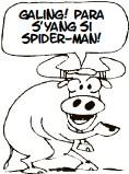 ??  ?? galing! para s'yang si spider-man!