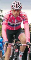 ?? LUK BEINES/AFP/GETTY IMAGES ?? Ryder Hesjedal finished with 139 points and 32 first-place votes in balloting of sports editors and broadcasters across the country.
