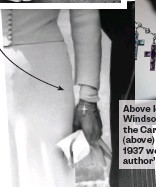 ??  ?? Above left: Edward, Duke of Windsor, gifted Wallace Simpson the Cartier charm bracelet (above) that she wore for their 1937 wedding. Opposite: The author's inherited charm bracelet