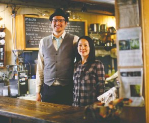?? CHAD HIPOLITO / POSTMEDIA NEWS ?? Jagasilk co-owners Jared and Miyuki Nyberg have found that an increased focus on terroir helps people better connect with what they're consuming.