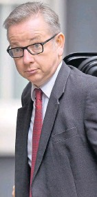 ??  ?? Cabinet post likely for Michael Gove