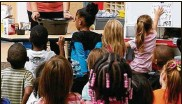 ?? COLUMBUS DISPATCH ?? A new report shows only about 40 percent of Ohio children enter kindergarten ready to learn.