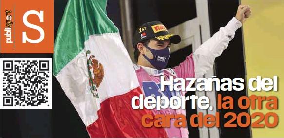 ?? / AP ?? Hazaña. Sergio Checo Pérez ya es un histórico dentro del deporte mexicano.