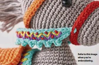 Amigurumi Donkey Pattern | Tricot et crochet, Modèles de crochet ... | 222x337