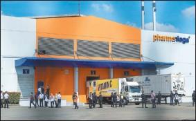 ??  ?? 科興疫苗抵達大馬后,直接運往位于蒲種的發馬公司(Pharmaniaga)工廠,以便進行灌裝。