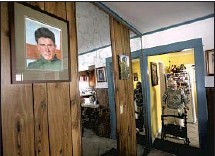 """??  ?? A PAINTING of Cruz hangs in the Glendale home of Ruth Soto, his youngest sister. """"I never forgot him,"""" the 88-year-old said."""