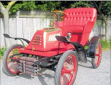 ??  ?? This rare, red 1903 Holley will be one of the major drawcards at the CHB Vintage Car Club's Daffodil Rally for Cancer next month.