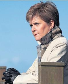 ??  ?? RULING: Nicola Sturgeon called move morally repugnant.