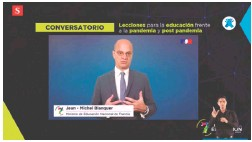 ??  ?? Jean-michel Blanquer, ministro de Educación de Francia.